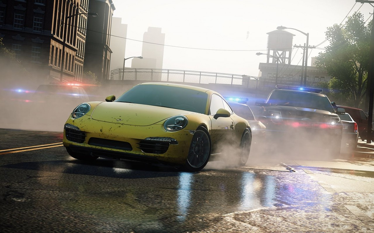 plus bas la suite de notre test de Need For Speed : Most Wanted
