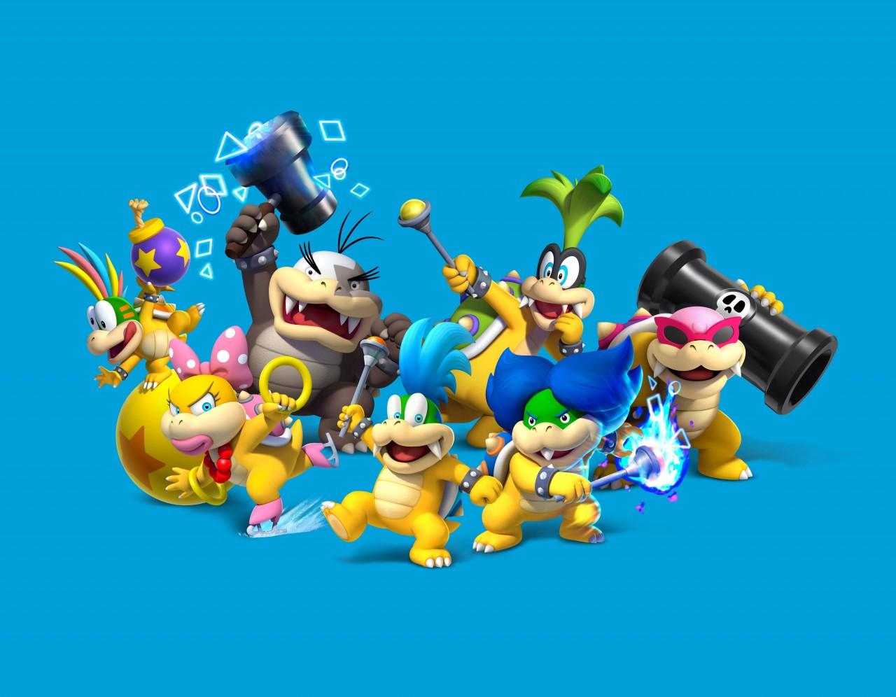 New Super Mario Bros U : les méchants en images