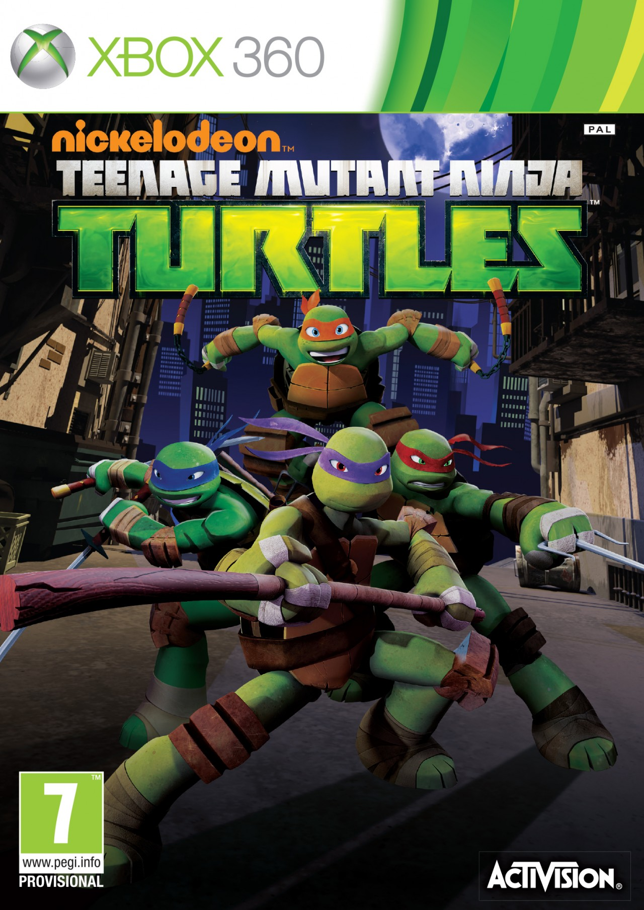 nickelodeon teenage mutant ninja turtles jeu action
