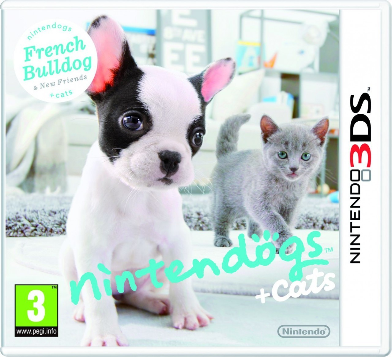 Nintendogs Cats Bouledogue
