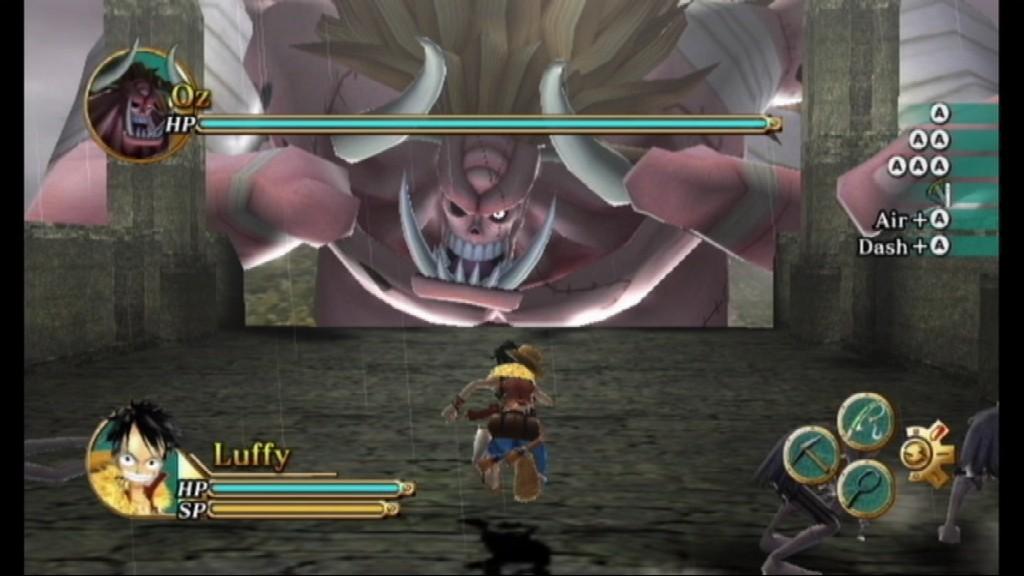 Contrairement à One Piece: Pirate Warriors 2, qui présentait une histoire originale pour le jeu, Pirate Guerrier 3 aura raconté les événements du manga et de l'anime, à commencer par le départ de Luffy de son village tout le chemin à l'arc actuel, Dressrosa.