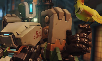 Overwatch : trailer de gameplay avec Bastion le robot