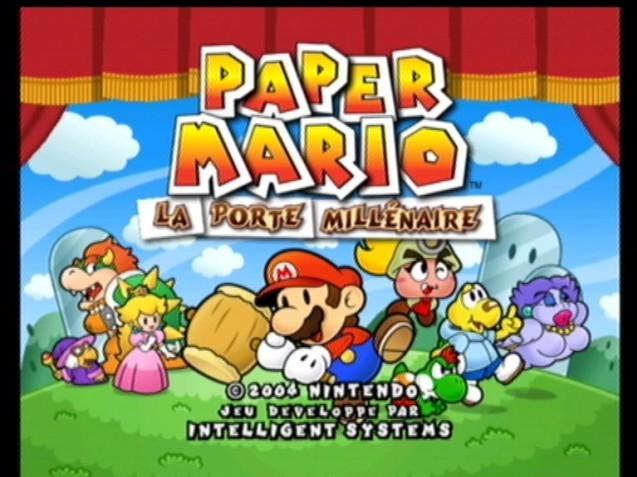 Test paper mario 2 sur gamecube - Telecharger paper mario la porte millenaire ...