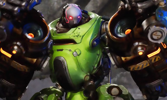 Paragon : trailer de gameplay de Crunch, le robot destructeur