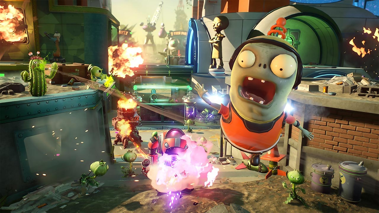 Test Plants Vs Zombies Garden Warfare 2 Sur Ps4 Et Xbox One