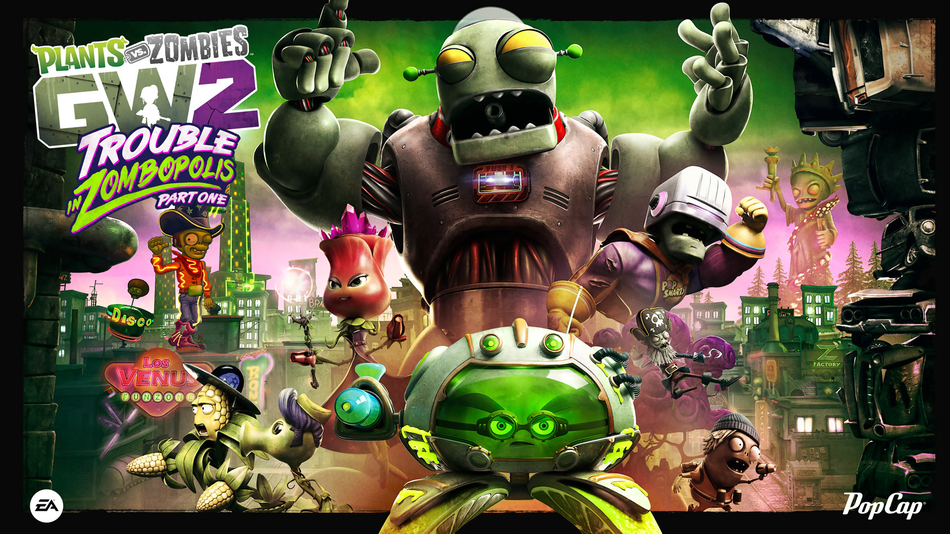 Artworks Plants Vs Zombies Garden Warfare 2