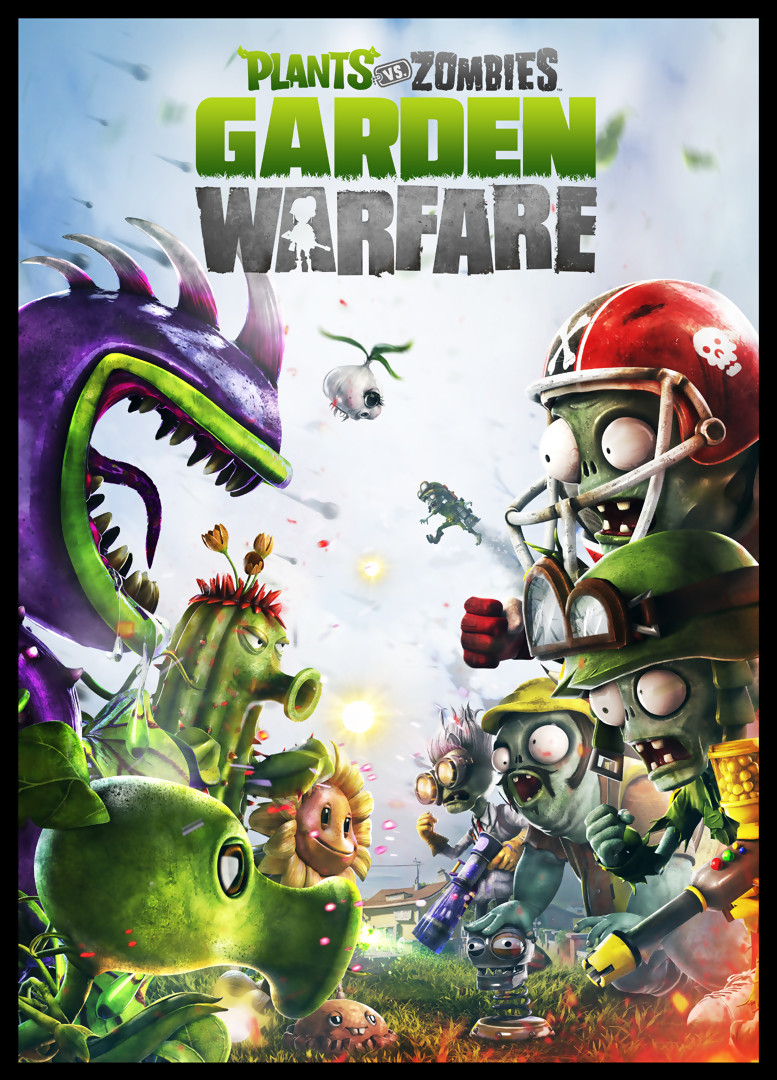 Plants Vs Zombies Garden Warfare Trailer Du Mode Coop Ration