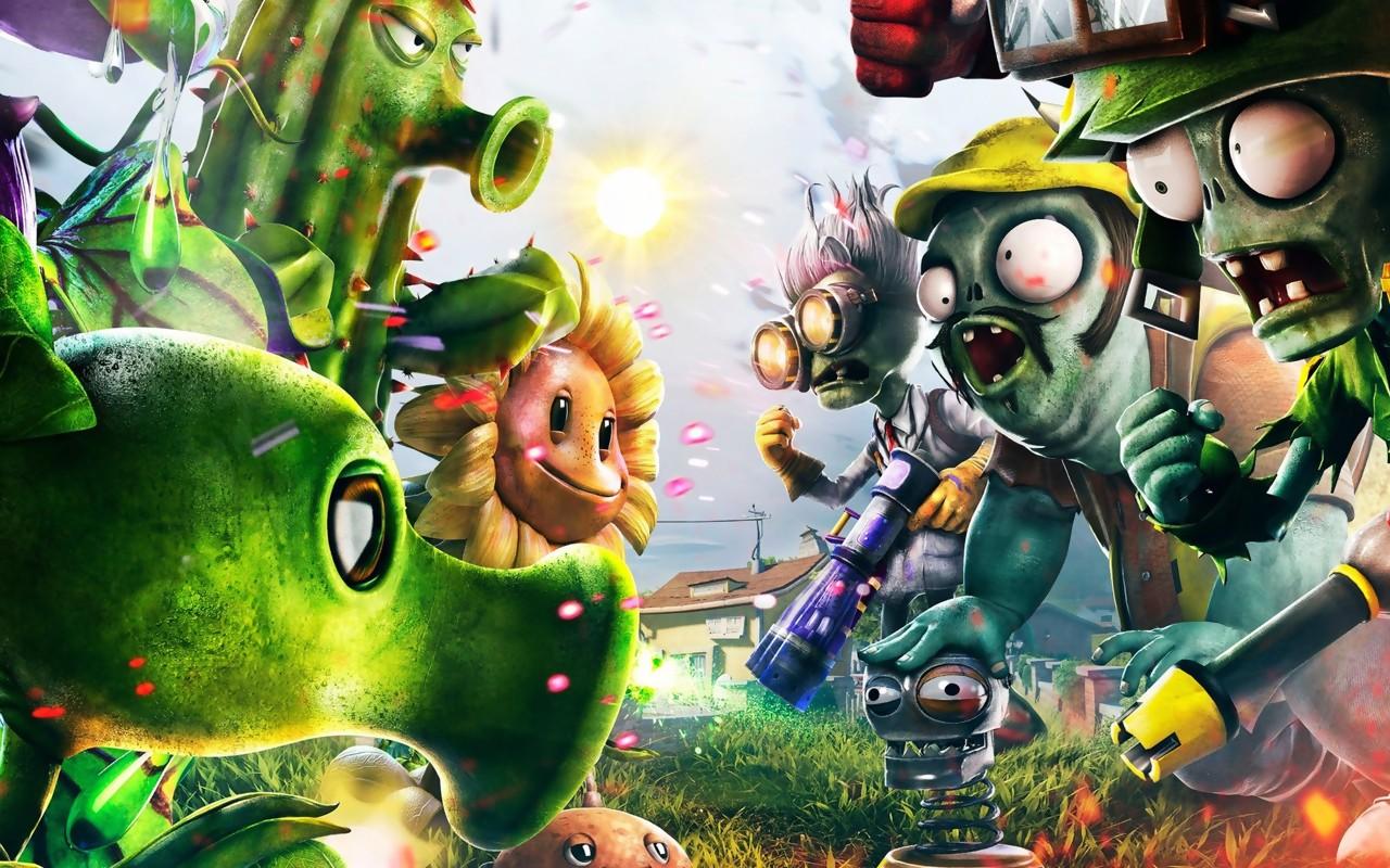 Artworks plants vs zombies garden warfare - Plants versus zombies garden warfare ...