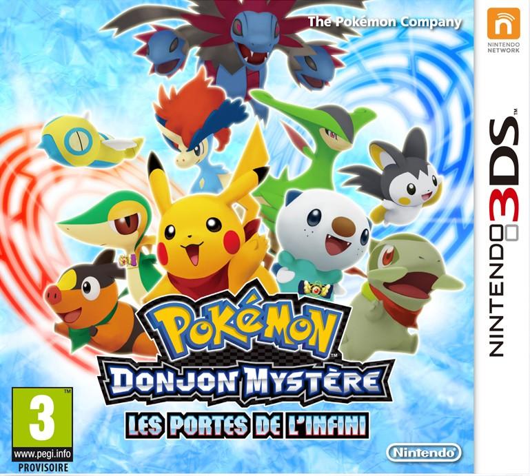 Pok mon donjon myst re les portes de l 39 infini toutes les - Pokemon donjon mystere les portes de l infini ...