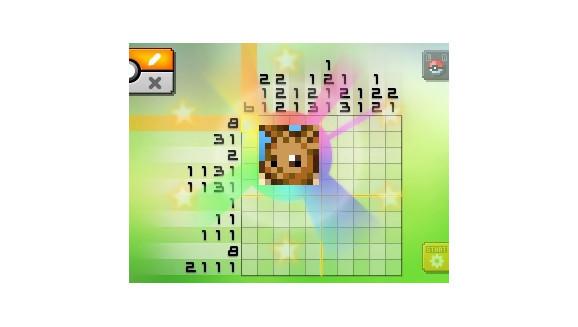 Pok mon picross for Mural 1 pokemon picross