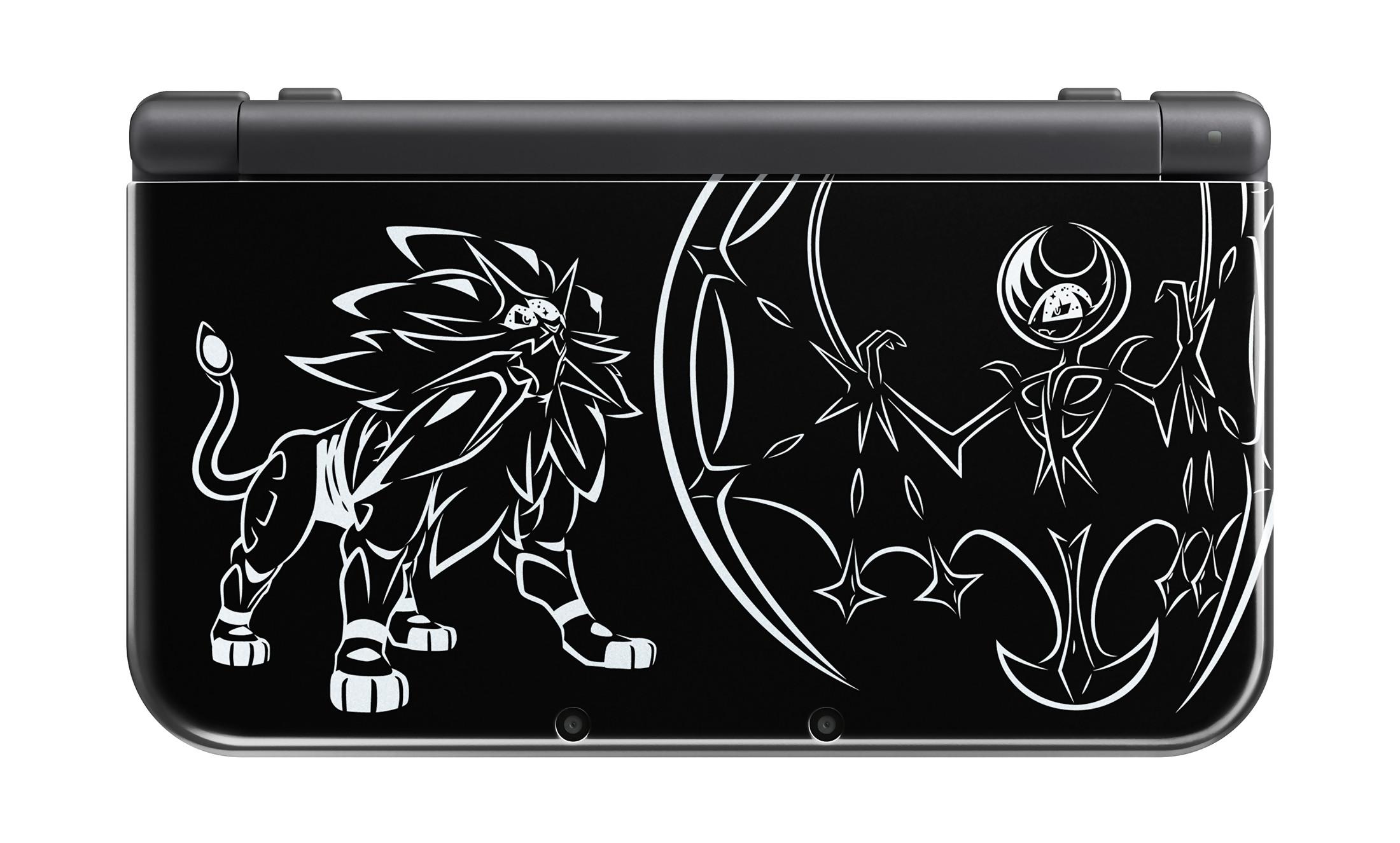 Pok mon lune soleil voici la new 3ds xl collector for Coque 3ds xl pokemon