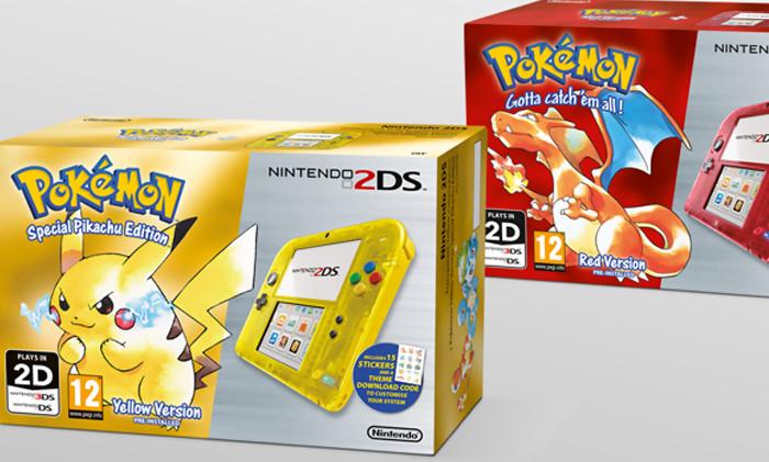 Pok mon les packs 2ds pok mon bleu rouge et jaune en images - Jeux info pokemon ...