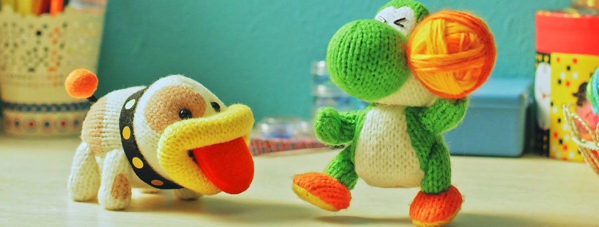 Test Poochy & Yoshi's Woolly World sur 3DS