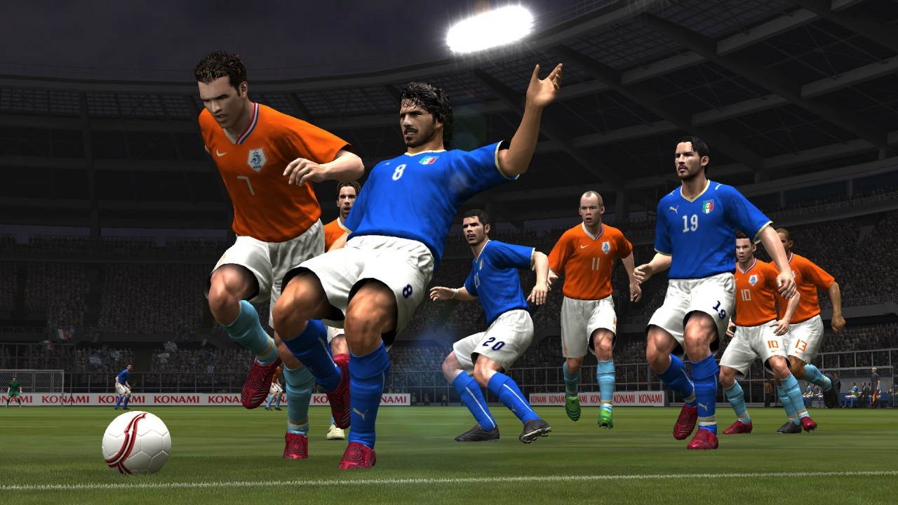 la demo jouable de pes 2009