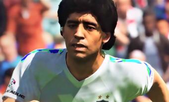 PES 2018 : trailer de gameplay avec Usain Bolt et Maradona
