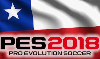 PES 2018 : un nouveau trailer avec toutes les stars du Chili