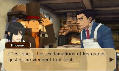 Professeur Layton vs Phoenix Wright Ace Attorney