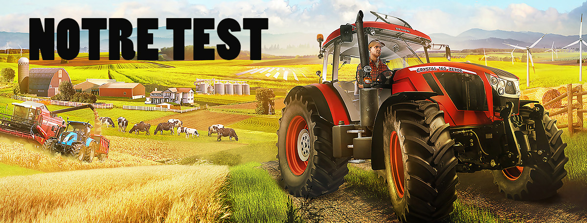Test Pure Farming 2018 : une bonne alternative à Farming Simulator ?