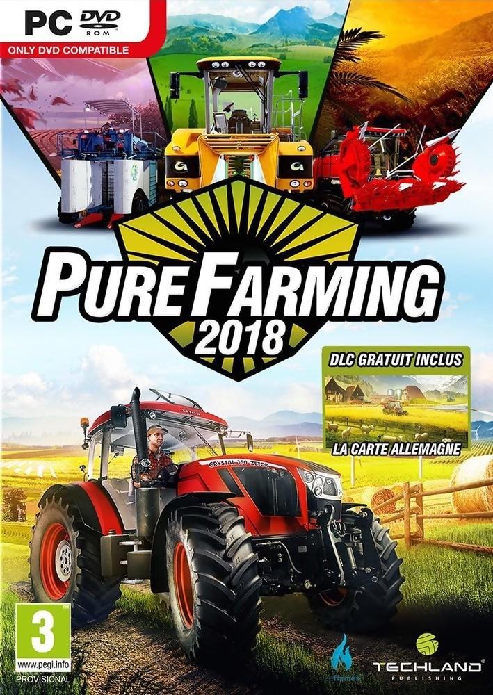 test pure farming 2018 une bonne alternative farming simulator. Black Bedroom Furniture Sets. Home Design Ideas