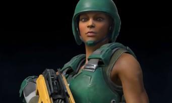 Quake Champions : du gameplay sur le mode slipgate avec Athena