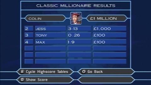Toutes les images du jeu Qui Veut Gagner des Millions ? Party Edition