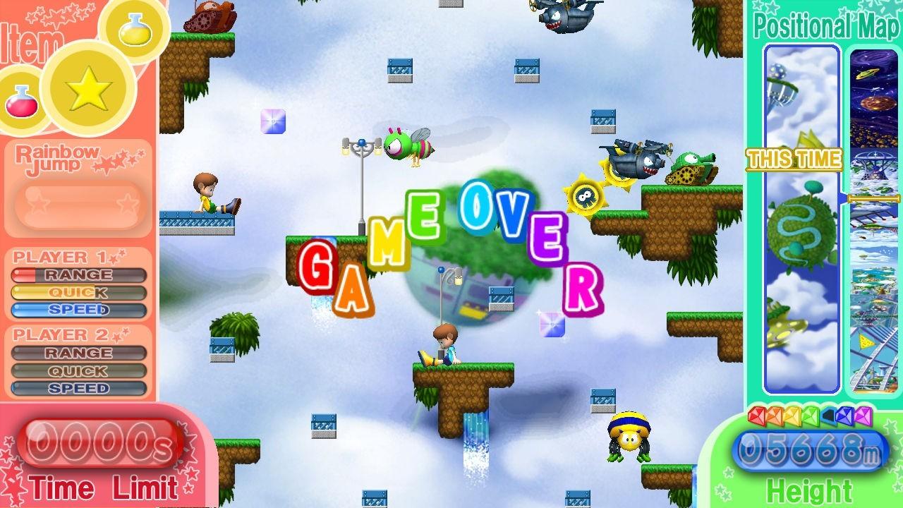 Rainbow Islands Towering Adventure