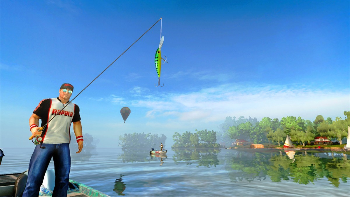 Images rapala pro bass fishing for Ps4 fishing games 2017