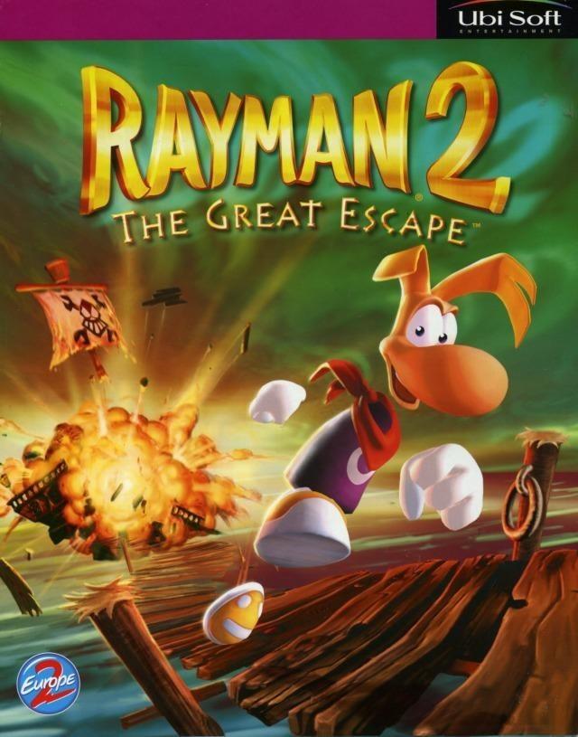 jaquettes rayman 2 the great escape. Black Bedroom Furniture Sets. Home Design Ideas