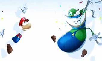Rayman Legends : les costumes de Mario et Luigi illustrés en vidéo
