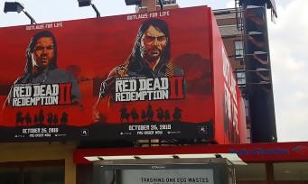 Red Dead Redemption 2 : la campagne marketing a été lancée à New York
