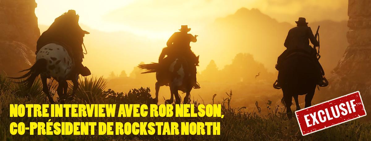 Red Dead Redemption 2 : notre interview de Rob Nelson de Rockstar