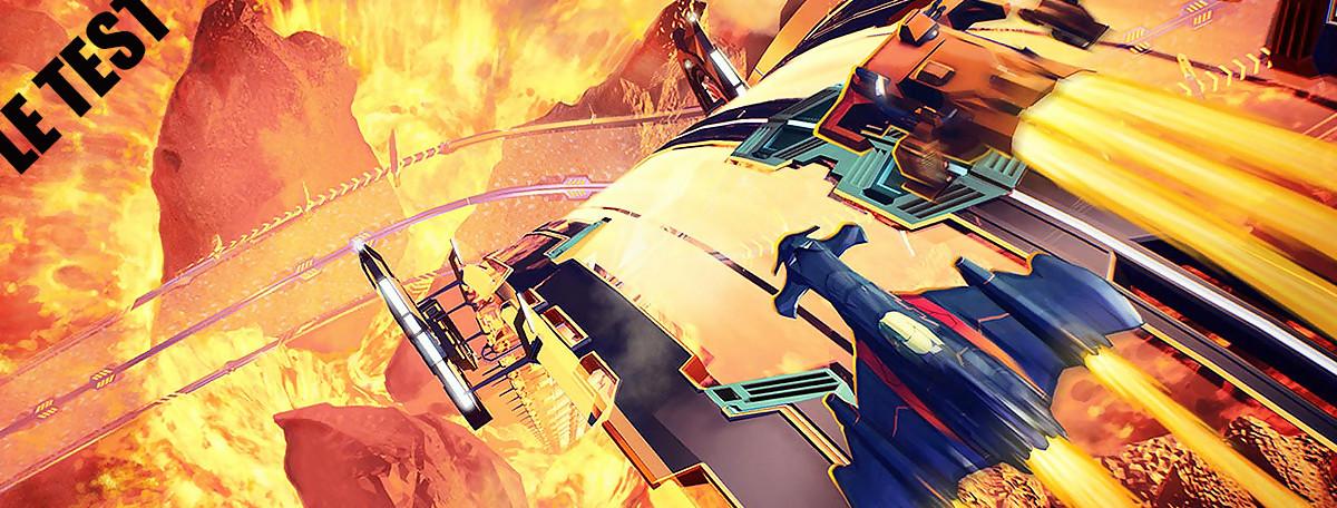 Test Redout (PS4) : le jeu qui va faire plier WipEout et F-Zero ?