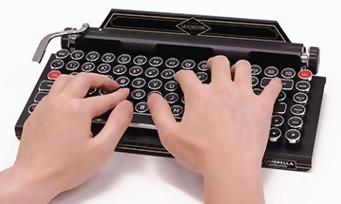 Resident Evil 2 : un sublime clavier façon machine à écrire vendu par Capcom