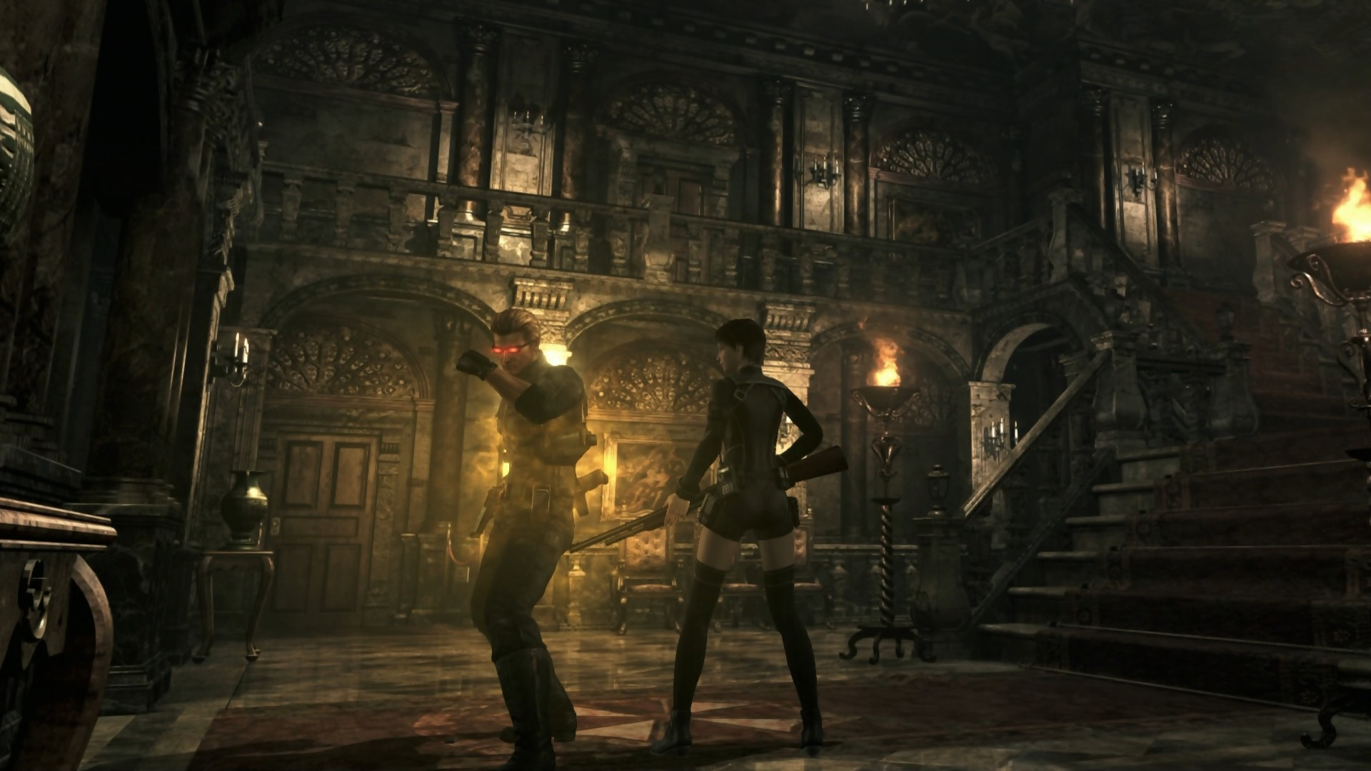 Test Resident Evil Origins Collection Sur Ps4
