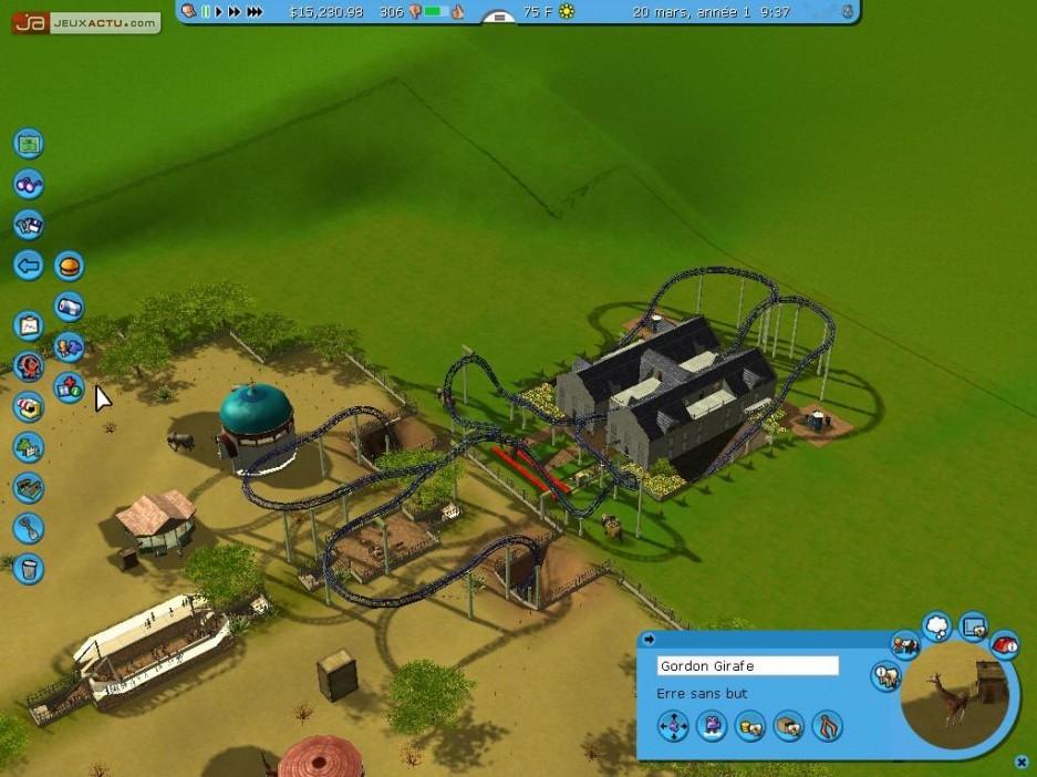 Roller coaster tycoon wild animal health