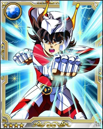 Saint Seiya Galaxy Card Battle sur Iphone et Android