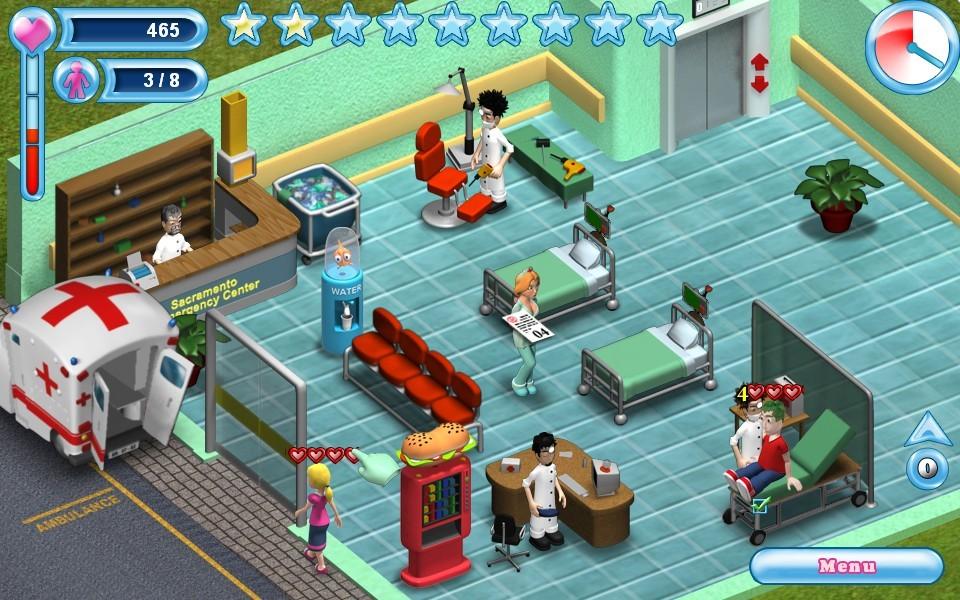 Emergency Room Gameplay