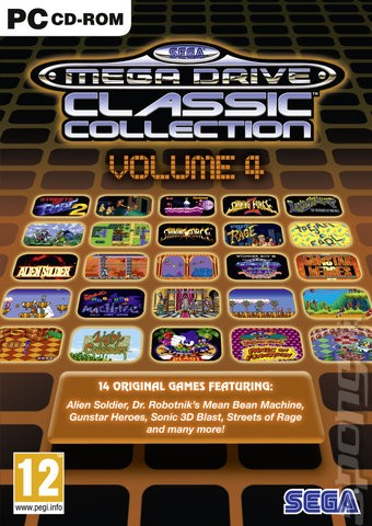 SEGA Mega Drive Classic Collection - Volume 4