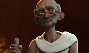 Civilization VI : trailer de Gandhi