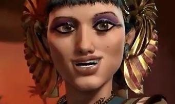 Civilization VI : Cléopâtre et son armée égyptienne présentées en vidéo