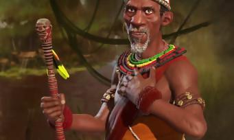 Civilization VI : trailer de gameplay de Mvemba a Nzinga du Kongo