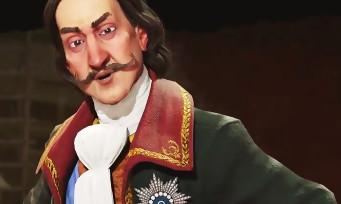 Civilization VI : trailer de gameplay de la Russie avec Pierre Le Grand