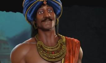 Civilization 6 : trailer de gameplay Chandragupta leader de l'Inde