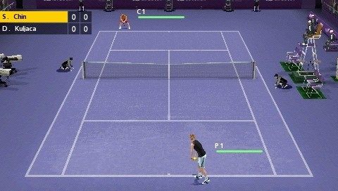 psp smash court tennis 3