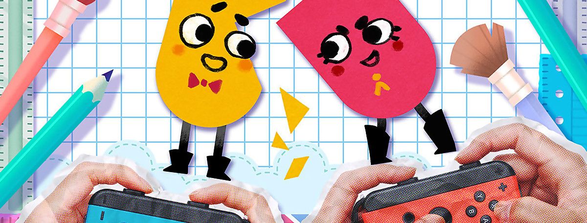 Test Snipperclips sur Nintendo Switch