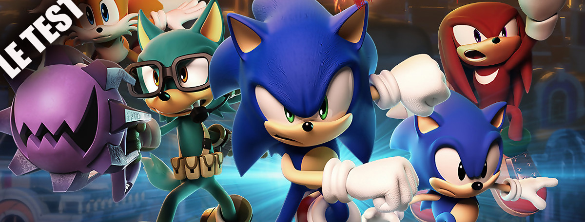Test Sonic Forces : le hérisson de SEGA est bel et bien maudit
