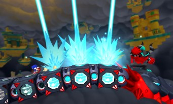 Test Sonic Lost World sur Wii U