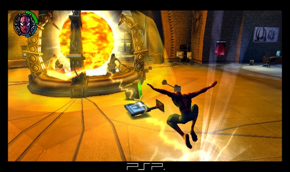 spiderman 2 aussi sur psp. Black Bedroom Furniture Sets. Home Design Ideas