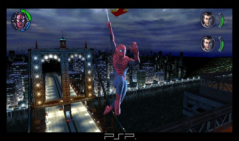 spiderman 3 psp game