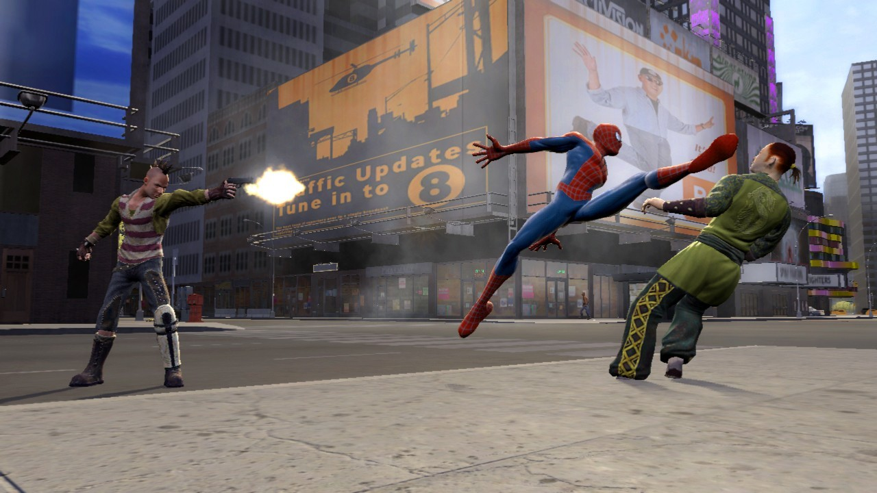 spider man 3 the game exhib